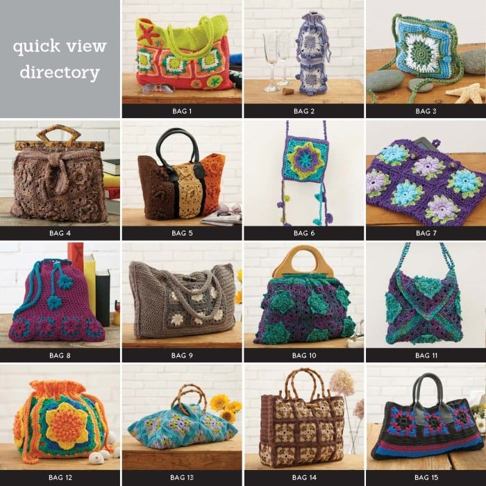 Quick View Directory Page 1 10 Granny Squares 30 Bags