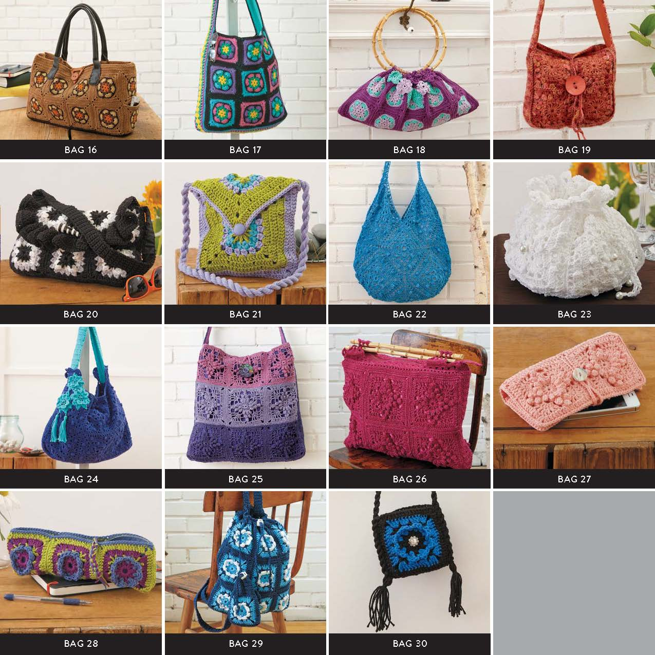 Quick View Directory Page 2 10 Granny Squares 30 Bags