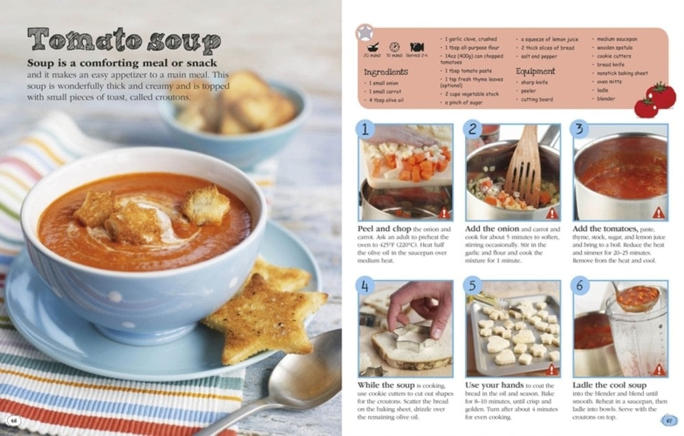 Tomato Soup - Complete Children's Cookbook Review
