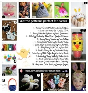 20 Free Patterns Perfect for Easter