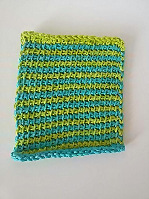Tunisian Striped Dishcloth - Guest Contributor Post 2