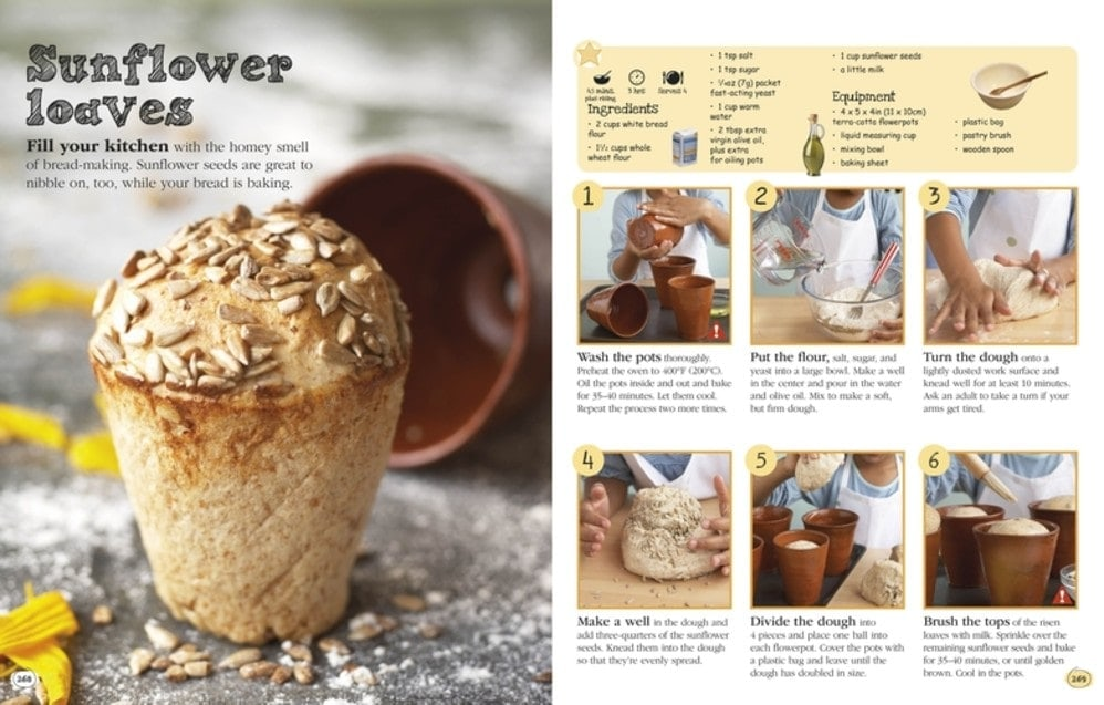 Sunflower Loaves - Complete Children's Cookbook Review