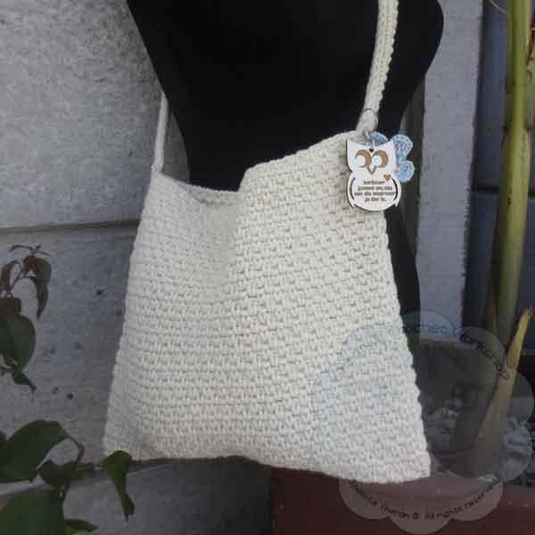 Woven Shoulder Bag Guest Post Free Pattern