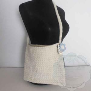 Woven Shoulder Bag – Free Pattern – Guest Post
