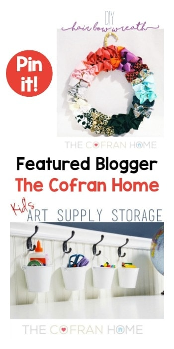 Featured Blogger The Cofran Home