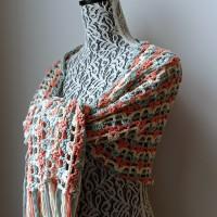 Gently Reminisce Wrap – Free Crochet Pattern
