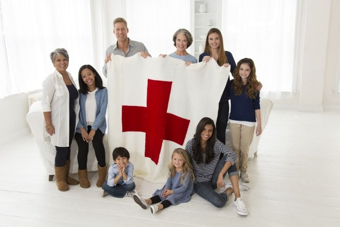 #StitchAHug with Red Heart and Red Cross North America