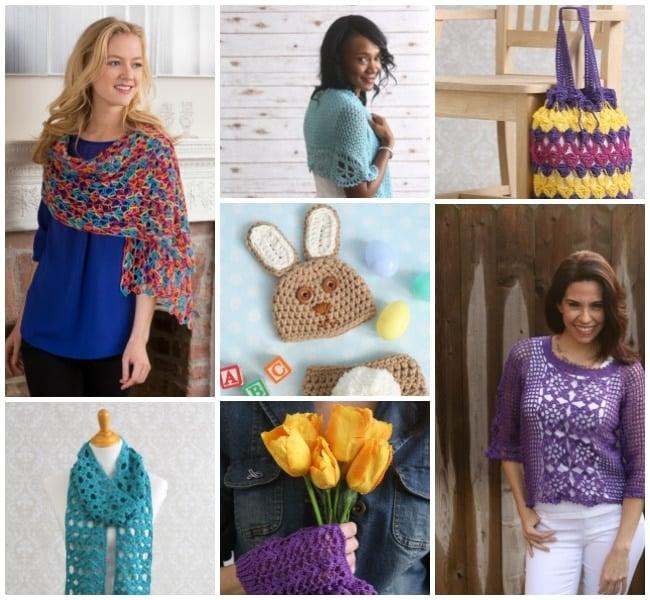April 2016 Collage for I Like Crochet