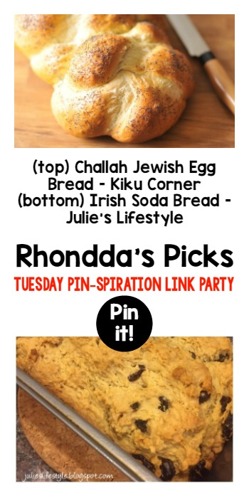 Rhonddas Picks Tuesday PINspiration Link party
