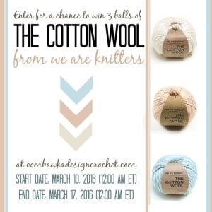 Giveaway Time! Enter to win The Cotton Wool I used to make this!