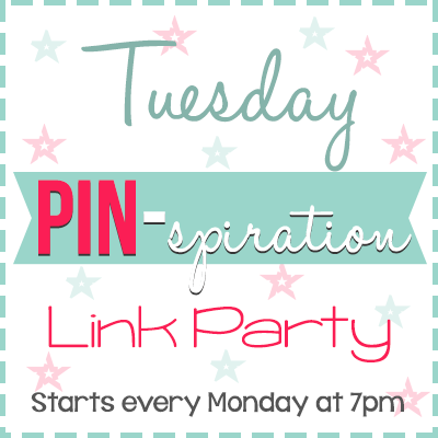 Tuesday Pin-spiration Link Party