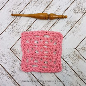Victoria Stitch Dishcloth Pattern and Tutorial Oombawka Design 1
