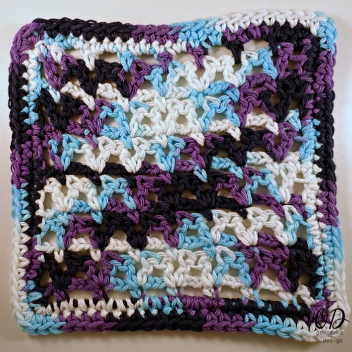 Victoria Dishcloth - LLANCS Pattern Kitchen Crochet Edition