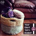Free Pattern - Your Giant Yarn Basket