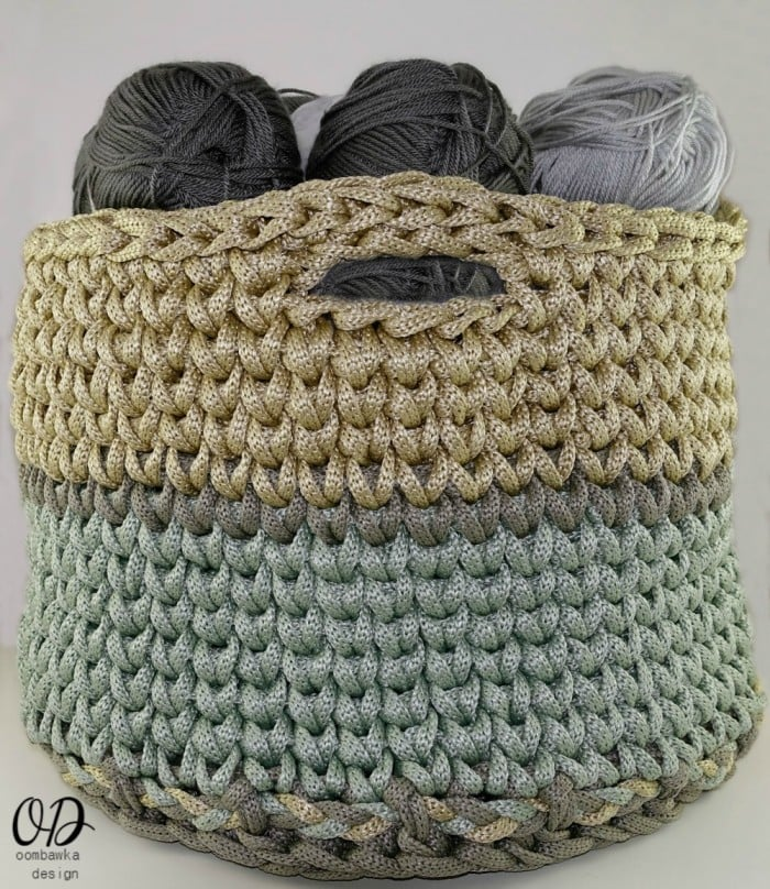 Light Tent Version Your Giant Yarn Basket