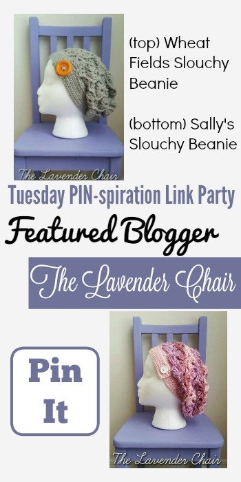 Tuesday PIN-spiration Link Party Featured Blogger - The Lavender Chair   www.thestitchinmommy.com
