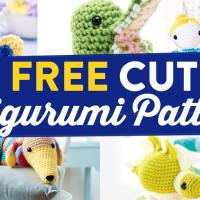 5 FREE Cute Amigurumi Patterns
