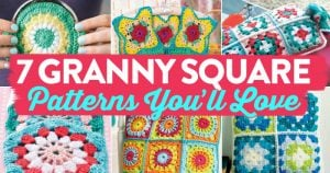 7 Granny Square Patterns You'll Love | oombawkadesigncrochet.com