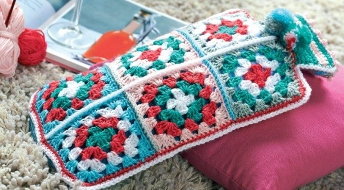 Cosy - 7 Granny Square Patterns You'll Love | oombawkadesigncrochet.com