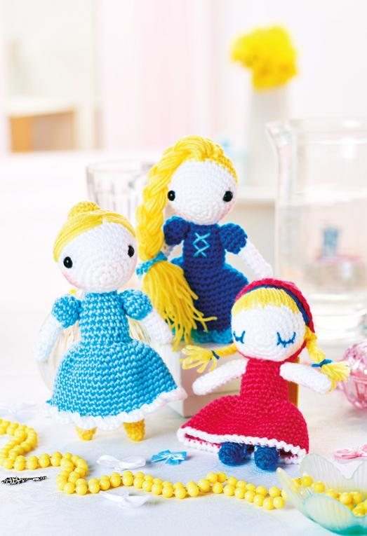 Fairytale - 5 Free Cute Amigurumi Patterns oombawkadesigncrochet.com