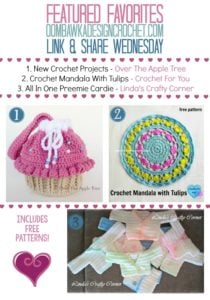 Add Your Projects to the Party Too - Featured Favorites - Link and Share Wednesday oombawkadesigncrochet.com