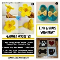 Features – Bright Flowers, Sweet Booties and a C2C Crochet Blanket with Video