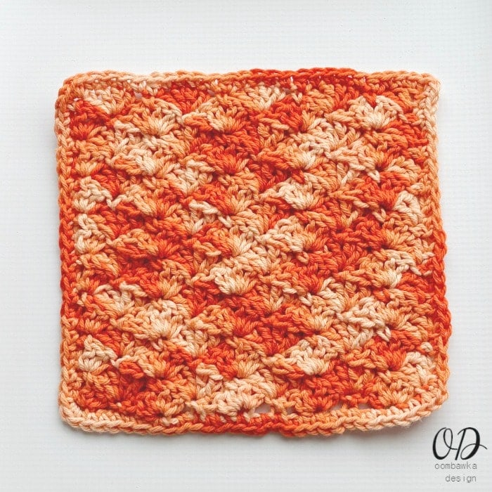 Orange-Explosion-Dishcloth