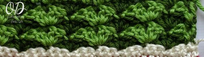 Row Close Up Wonder Crochet Blanket CAL