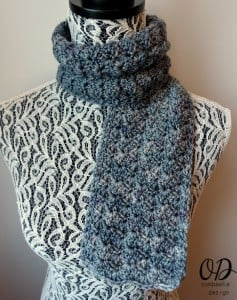 To Nana With Love Scarf - oombawkadesigncrochet 2