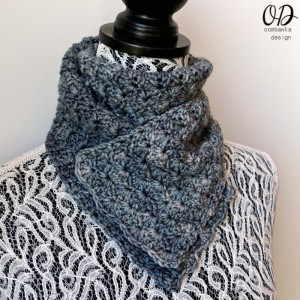 Scarf of the Month Club April - To Nana With Love Scarf by OombawkaDesignCrochet
