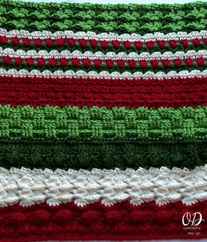 Alternate Section Wonder Crochet Blanket CAL