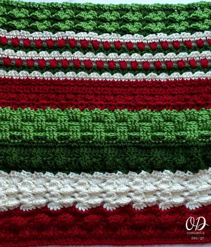 Alternate Section Wonder Crochet Blanket CAL