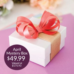 Super Special Savings! Premium April Mystery Box from Cricut!