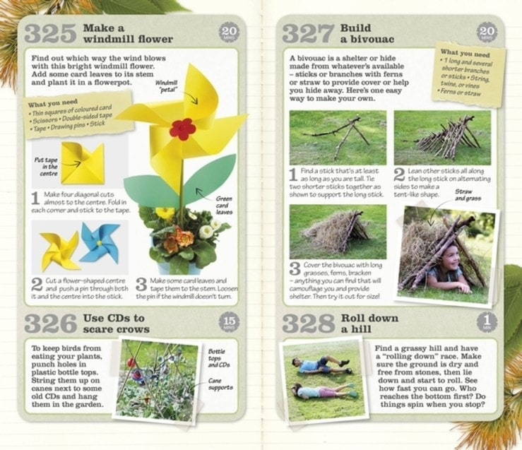 325 Great Things to do Outside Book Review