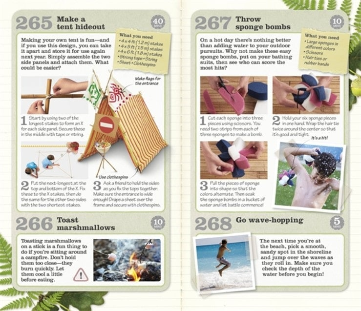 266 Great Things to do Outside Book Review