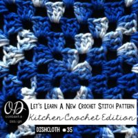 Granny Square Dishcloth – Kitchen Crochet Tutorial 35