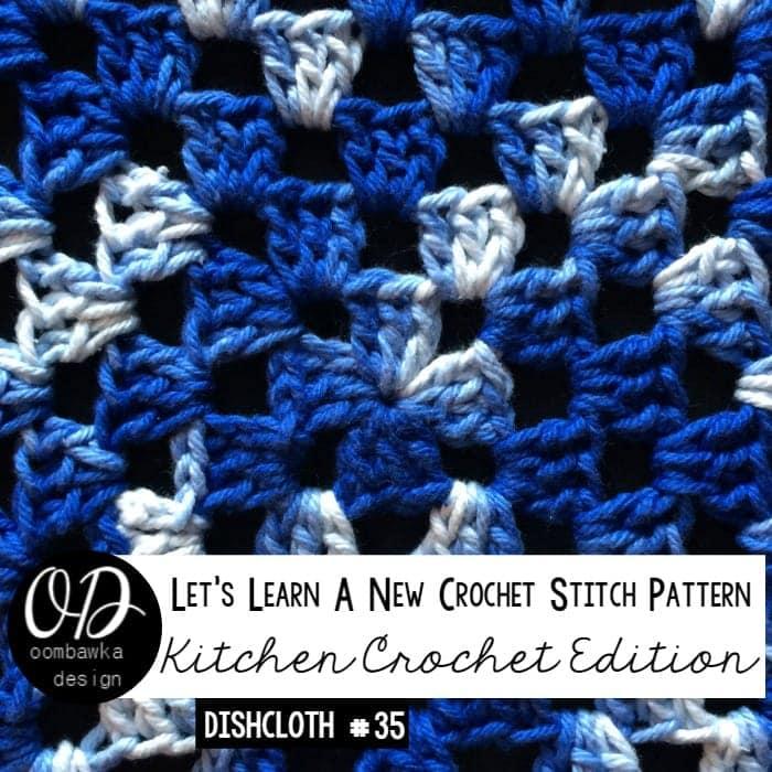 LLANCS 35 Granny Square Tutorial and Pattern - Kitchen Crochet oombawkadesigncrochet.com