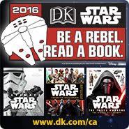 Be A Rebel Read a Book 2016 DK STAR WARS