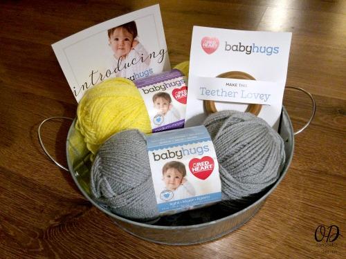 Sweet Little Baby Hugs hat -Baby Hugs Pack from Red Heart Yarn