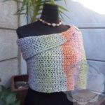Lacy V-Stitch Shawl   Free Crochet Pattern
