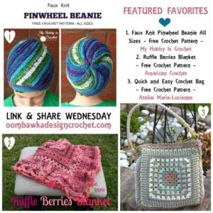 Beanies, Blankets, Bags! Featured Favorites Link and Share Wednesday