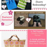Puppets, Slippers and Customized Bags! This Week's Featured Projects!