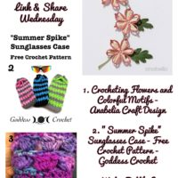 Flowers and other Small Crochet Projects Are Found in Our Featured Favorites This Week!
