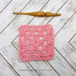 Granny Square Dishcloth Pattern and Tutorial