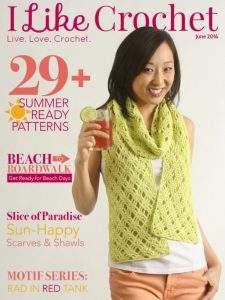 Cover. Live. Love. Crochet. June I Like Crochet