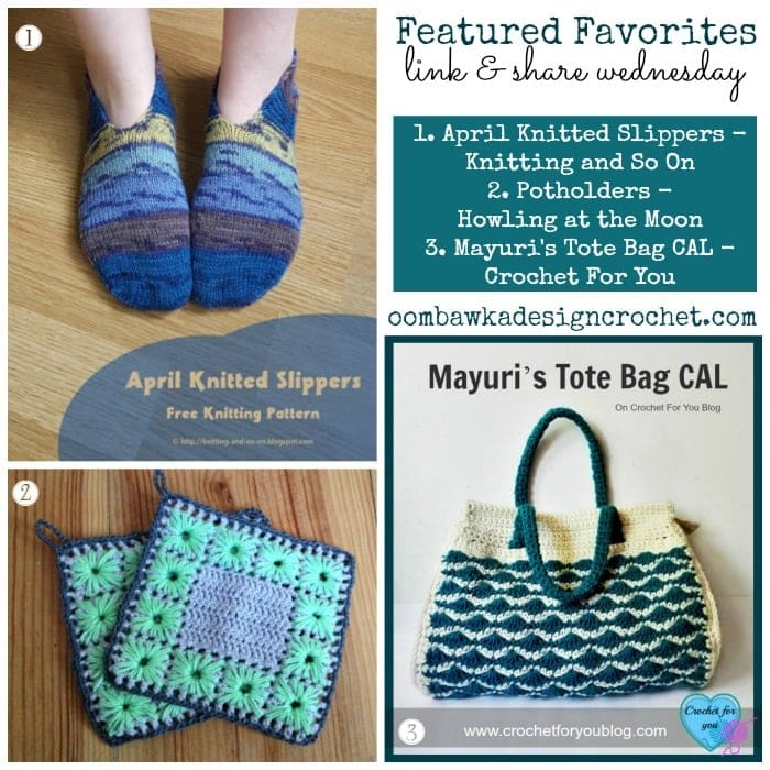 Potholders, Slippers and Tote Bags!