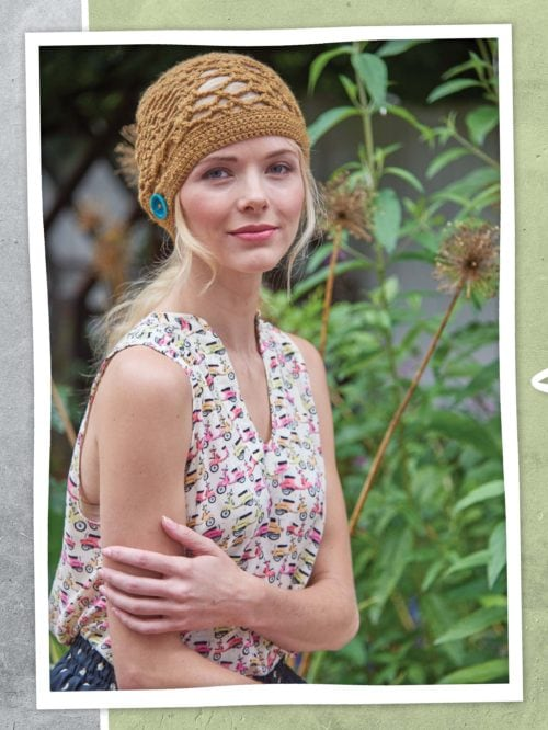 Classic Crochet Lace and Contemporary Style have been combined to create the extremely feminine designs in Vintage Modern Crochet. ♥ Get the Bonus Excerpt Pattern: O'Hara Hat ♥ Vintage Modern Crochet Book Review.