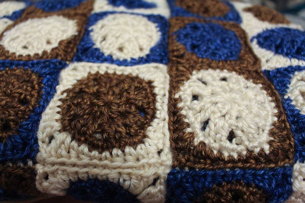 May Featured Charity: Binky Patrol: Sandy Dunes Binky free crochet pattern by Underground Crafter 4