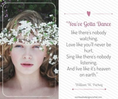 Inspirational Quotes - You've Gotta Dance