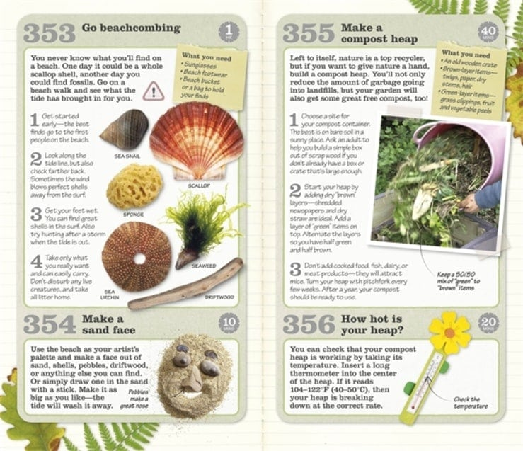 353 Great Things to do Outside Book Review